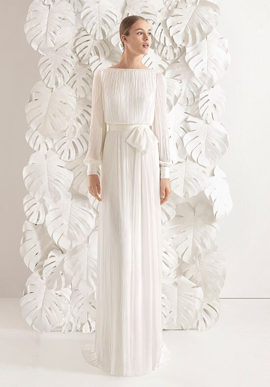 Rosa Clará Necora Sheath Wedding Dress