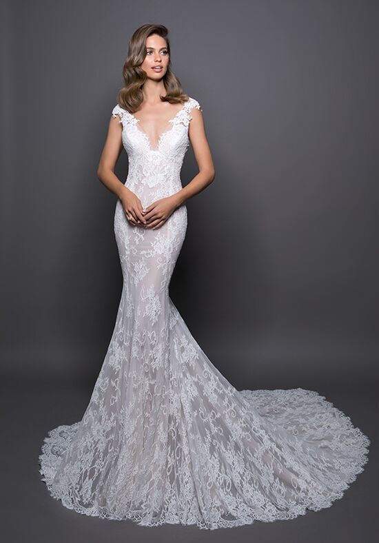 LOVE by Pnina Tornai for Kleinfeld 14586 Sheath Wedding Dress