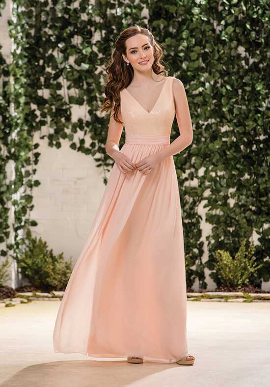 B2 by Jasmine B183063 V-Neck Bridesmaid Dress