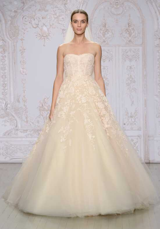Monique Lhuillier Paradise Ball Gown Wedding Dress