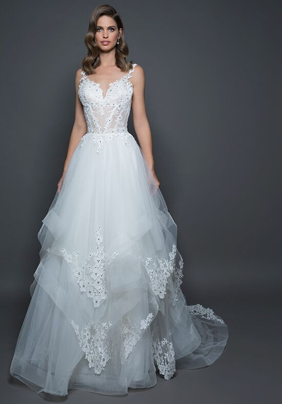 LOVE by Pnina Tornai for Kleinfeld 14590 A-Line Wedding Dress