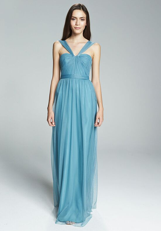 Amsale Bridesmaids Aisha V-Neck Bridesmaid Dress