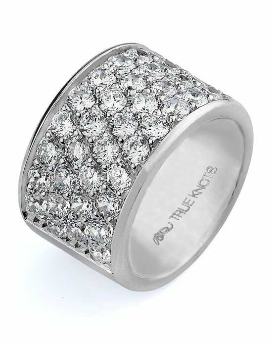 TRUE KNOTS Love is Light Collection - DW238 Palladium,Platinum,White Gold Wedding Ring