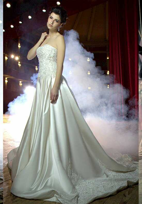 Stephen Yearick KSY52 A-Line Wedding Dress