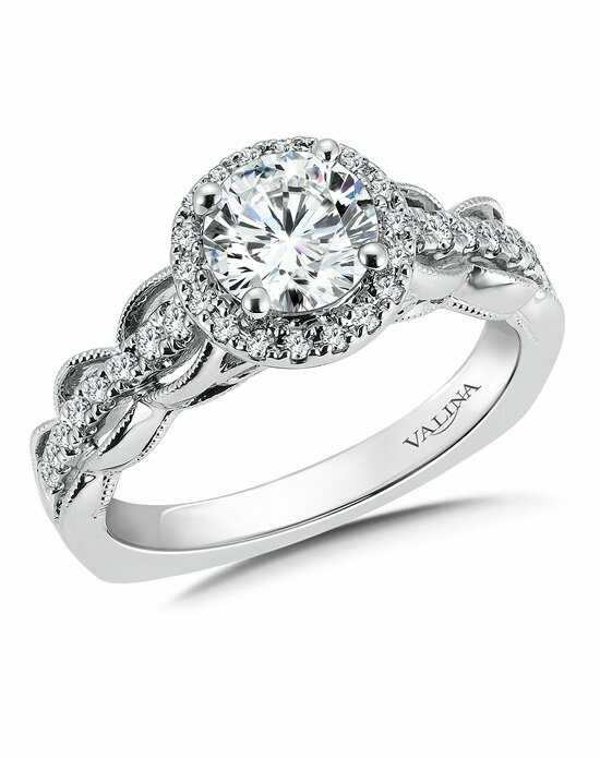 Valina R9684W Engagement Ring photo