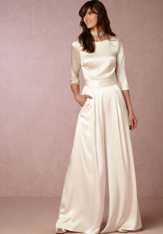 BHLDN Aurelia Pant Sheath Wedding Dress