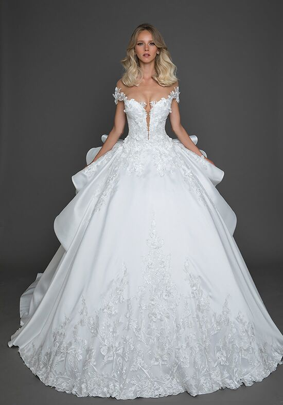 Pnina Tornai for Kleinfeld 4622 Ball Gown Wedding Dress
