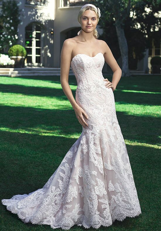 Casablanca Bridal 2224 Mermaid Wedding Dress