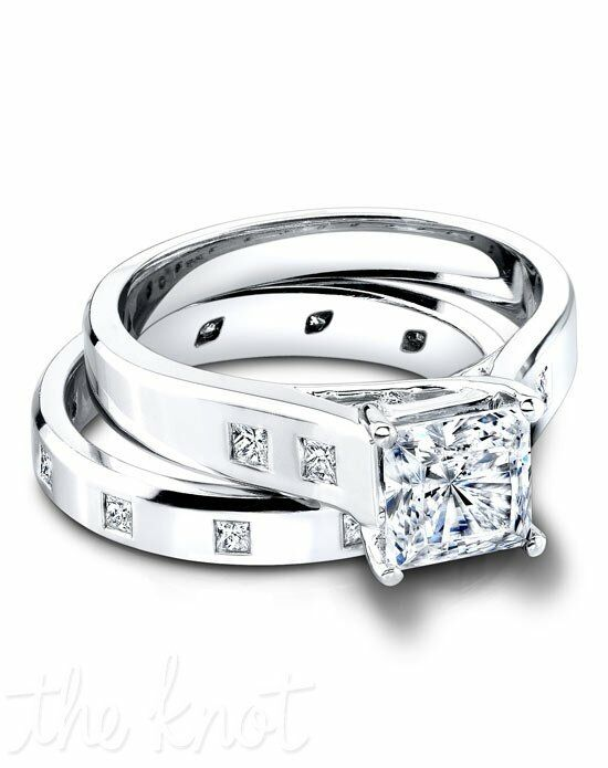 Jeff Cooper 2964/P & 4016/B Platinum, White Gold Wedding Ring