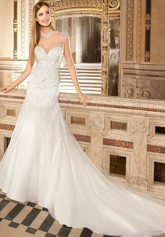 Demetrios 575 A-Line Wedding Dress