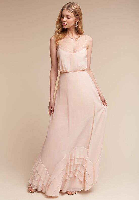 BHLDN (Bridesmaids) Dove V-Neck Bridesmaid Dress