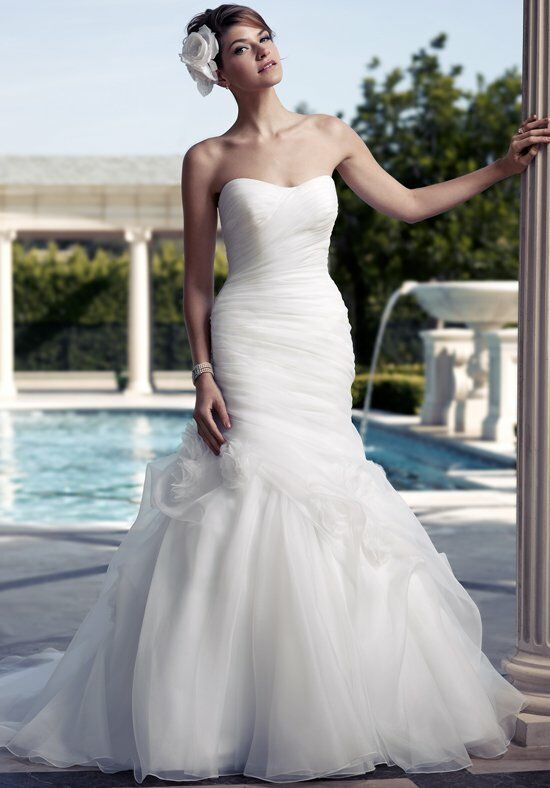 Casablanca Bridal 2090 Mermaid Wedding Dress