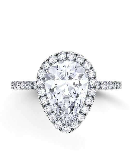 Danhov Pear Cut Engagement Ring