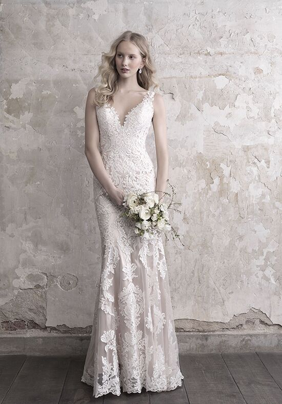 Madison James MJ459 Sheath Wedding Dress