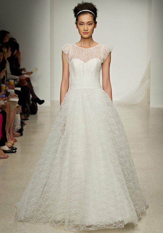 Christos Meadow Ball Gown Wedding Dress