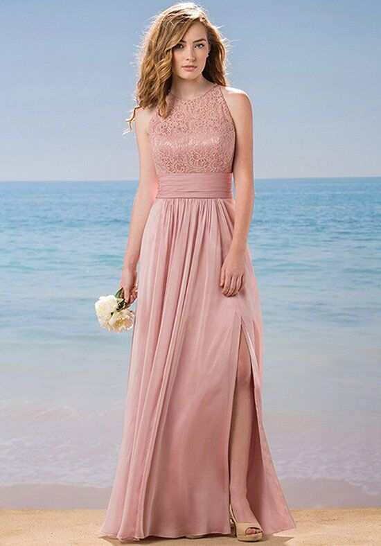 Belsoie L184015 Halter Bridesmaid Dress