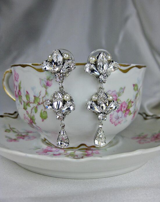Everything Angelic Julia II Earrings - e351 Wedding Earring photo