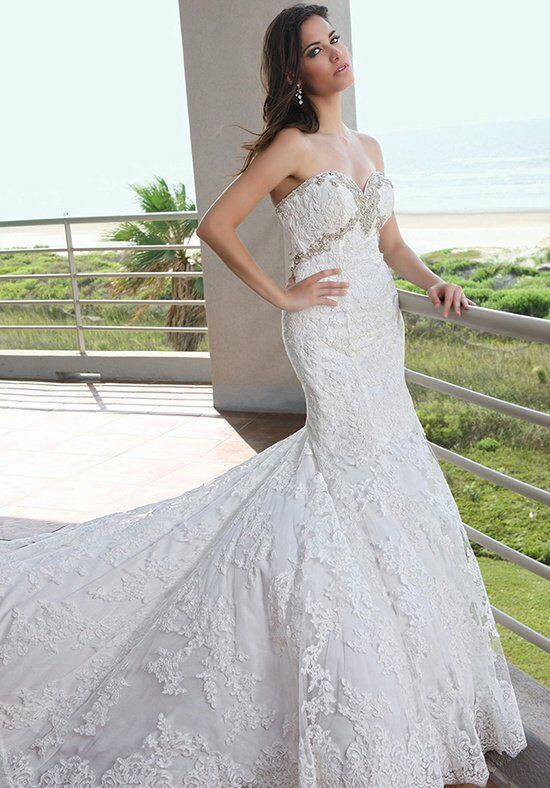 DaVinci Bridal 50234 Mermaid Wedding Dress