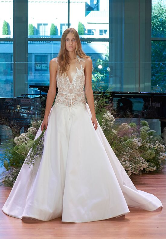 Monique Lhuillier Copeland Ball Gown Wedding Dress