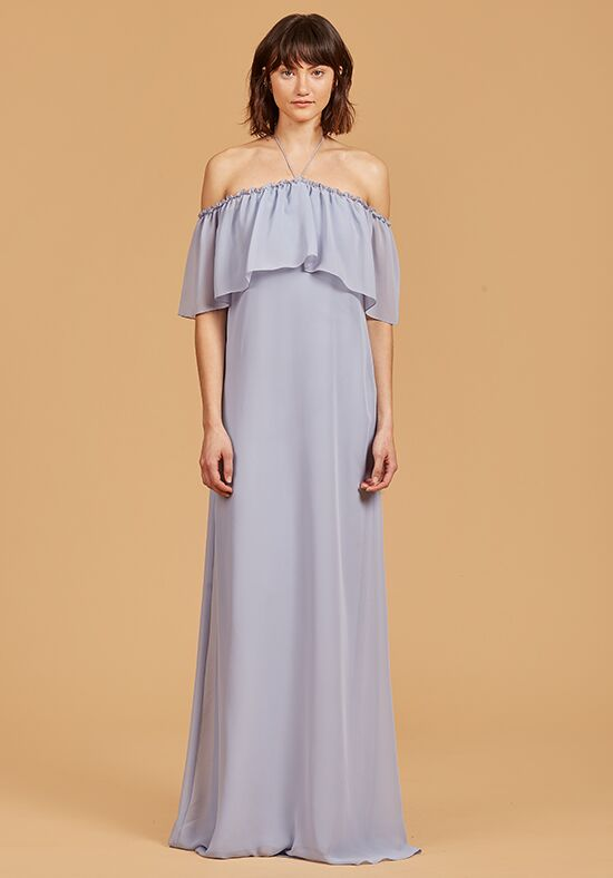 Nouvelle Amsale Bridesmaids Elisa Off the Shoulder Bridesmaid Dress