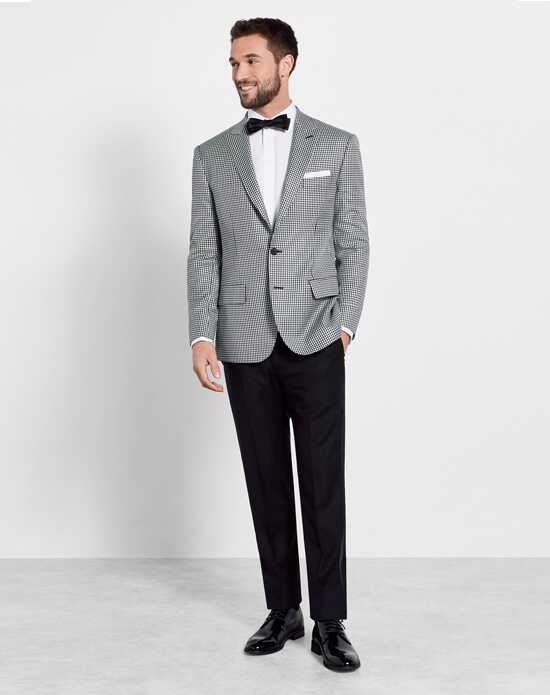 The Black Tux The Ellington Outfit Wedding Tuxedos + Suit photo