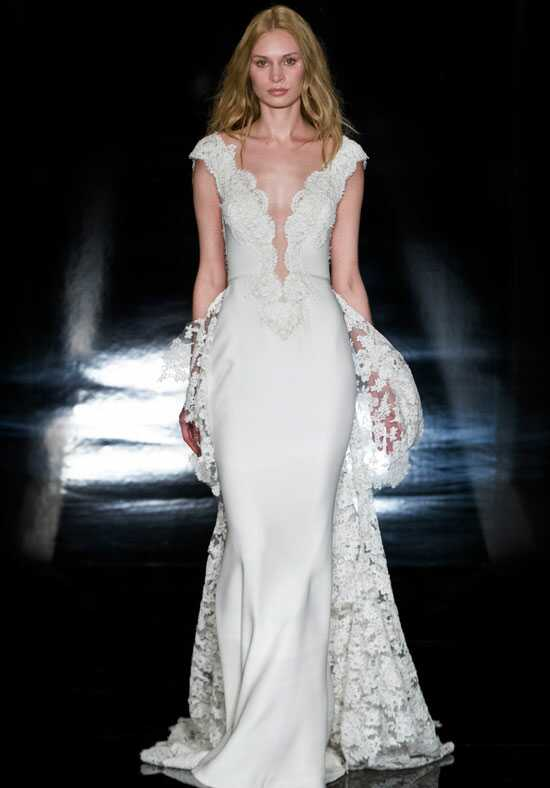 Reem Acra Bella Sheath Wedding Dress