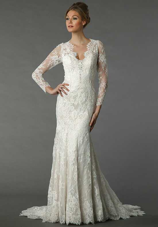 Danielle Caprese for Kleinfeld 113077 Sheath Wedding Dress