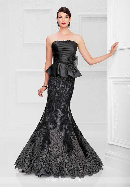 Ivonne D. 117D75 Black Mother Of The Bride Dress
