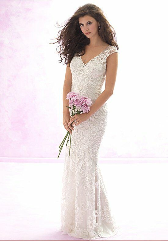 Madison James MJ109 Sheath Wedding Dress