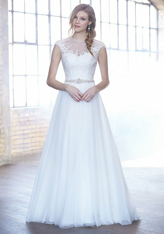Madison James MJ167 A-Line Wedding Dress