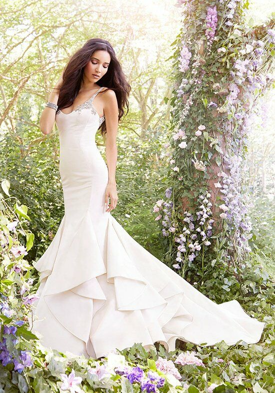 Jim Hjelm 8558 Mermaid Wedding Dress