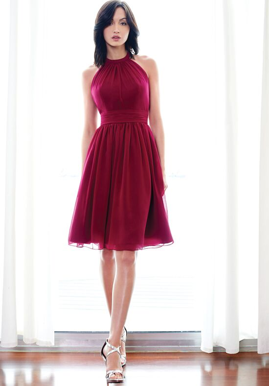 Red bridesmaid dresses pictures