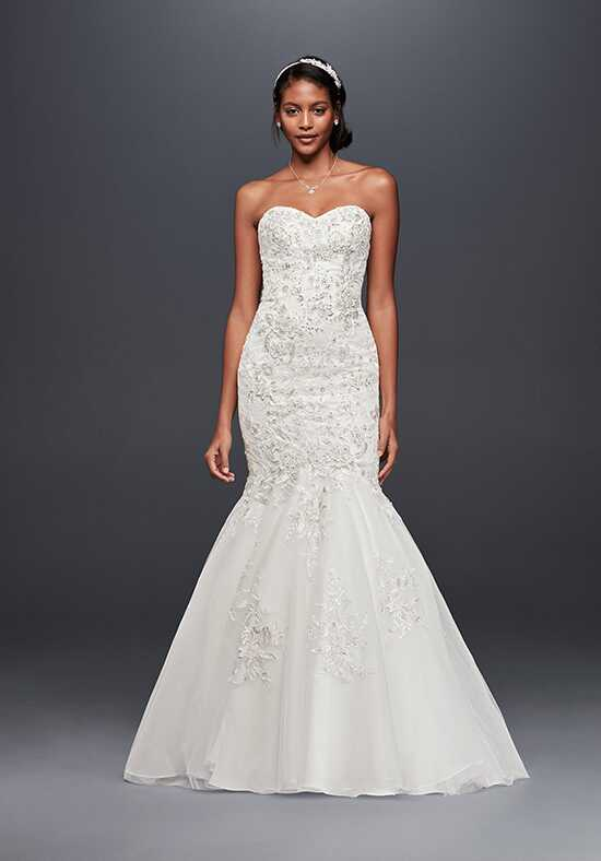 David's Bridal Jewel Style WG3839 Mermaid Wedding Dress