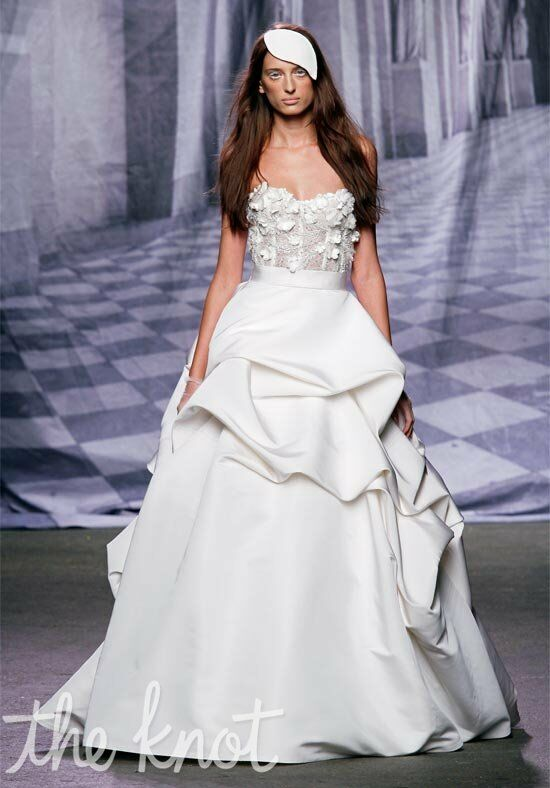 Monique Lhuillier Meringue Ball Gown Wedding Dress