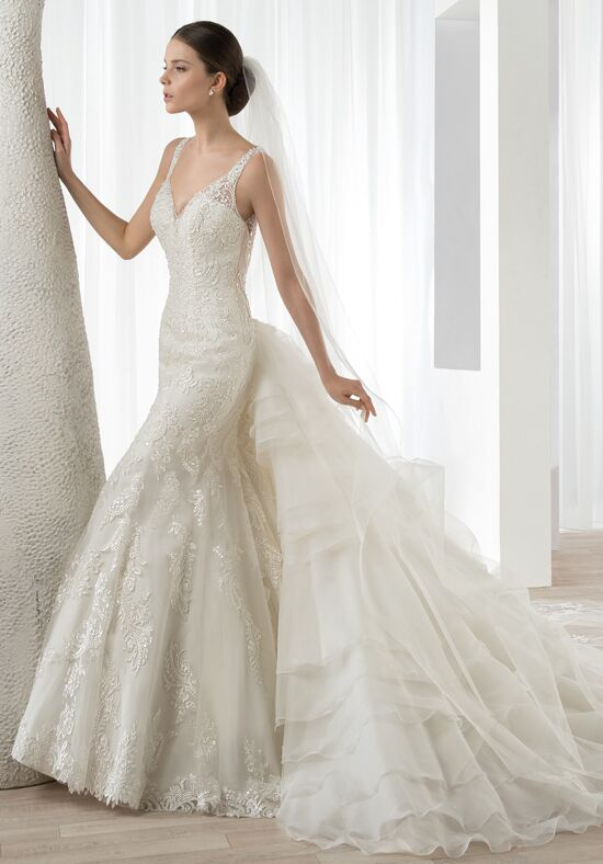 Demetrios 589 Mermaid Wedding Dress