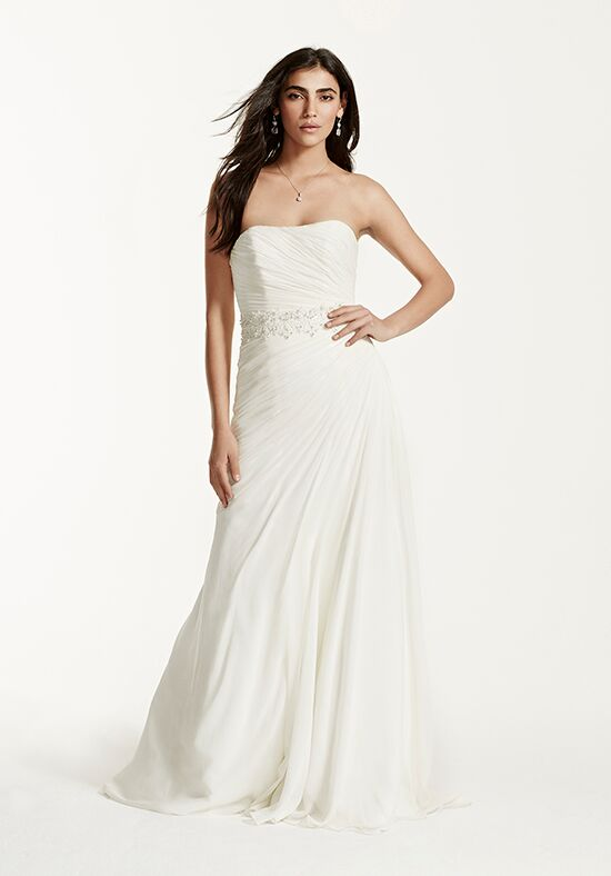 David's Bridal David's Bridal Collection Style V3540 A-Line Wedding Dress