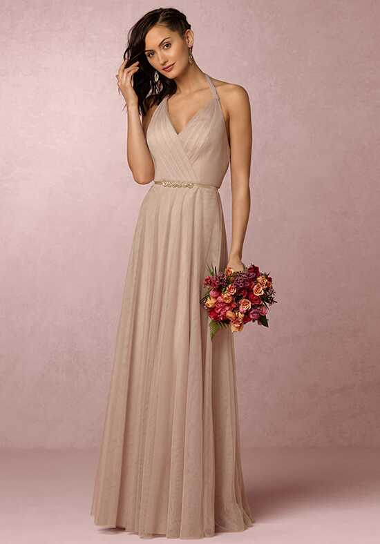BHLDN (Bridesmaids) Zaria-Champagne Bridesmaid Dress