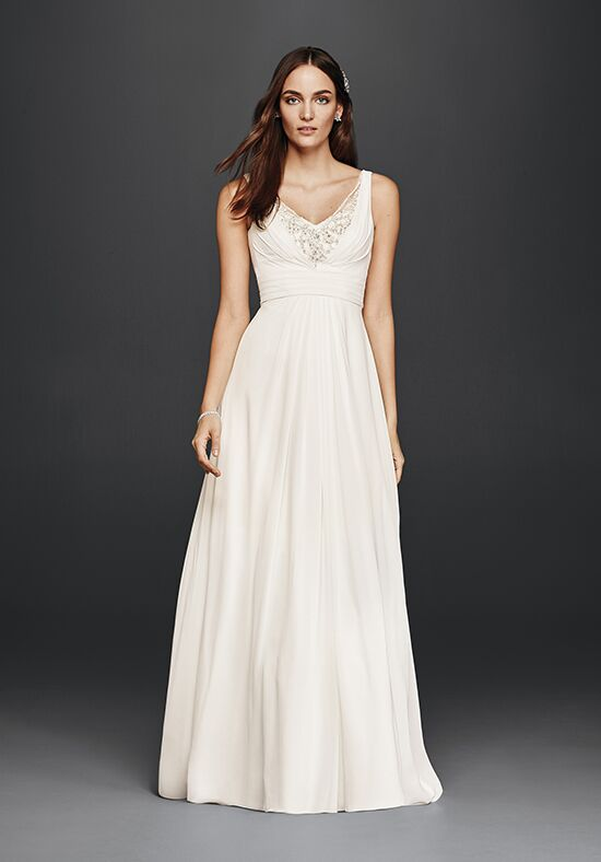 David's Bridal David's Bridal Collection Style V3806 A-Line Wedding Dress