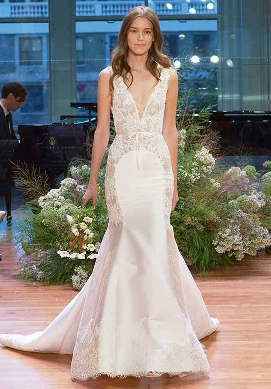 Monique Lhuillier Remember Mermaid Wedding Dress