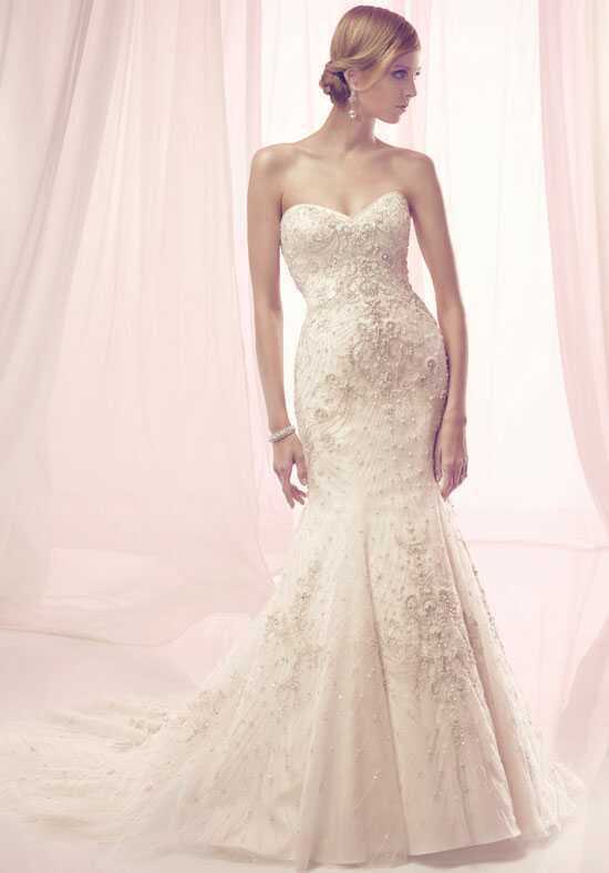 Amaré Couture by Crystal Richard B087 Mermaid Wedding Dress