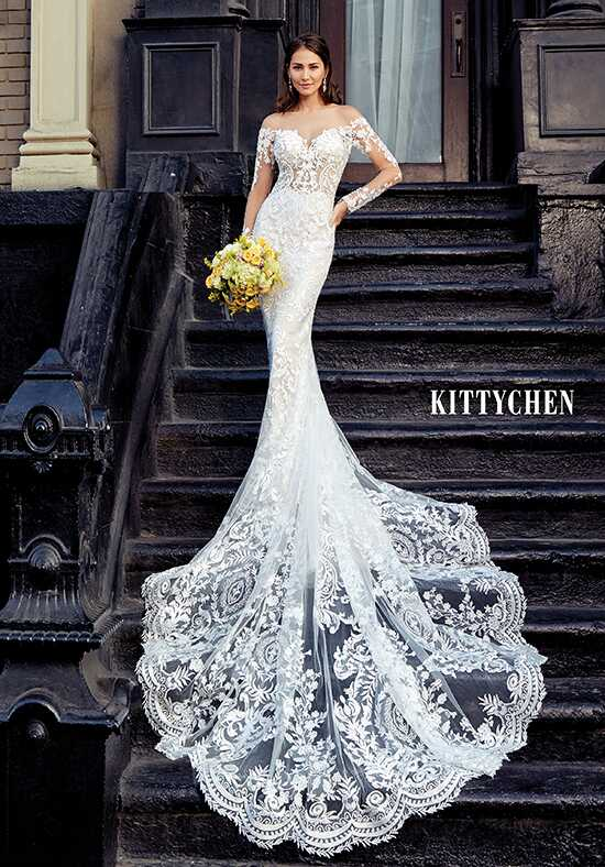 KITTYCHEN GEORGETTA H1854 Sheath Wedding Dress