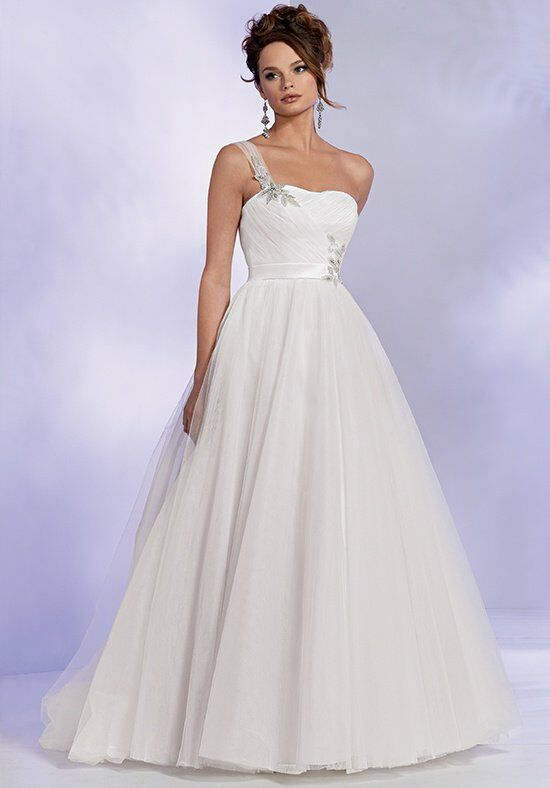 Reflections By Jordan M428 Ball Gown Wedding Dress