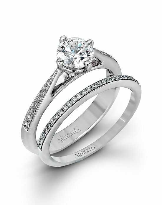 Simon G. Jewelry MR1511 Engagement Ring photo