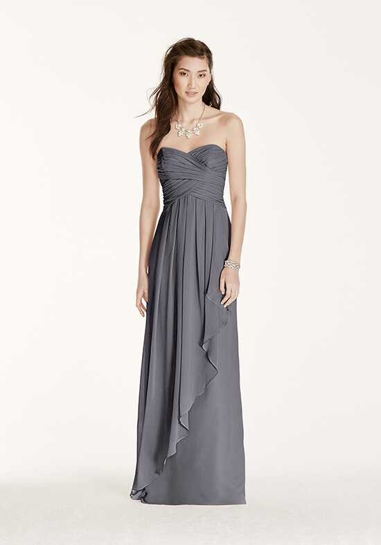 David's Bridal Collection David's Bridal Style W10840 Strapless Bridesmaid Dress