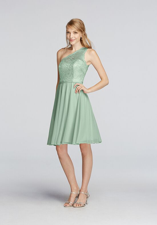 David's Bridal Collection David's Bridal Style F15711 One Shoulder Bridesmaid Dress