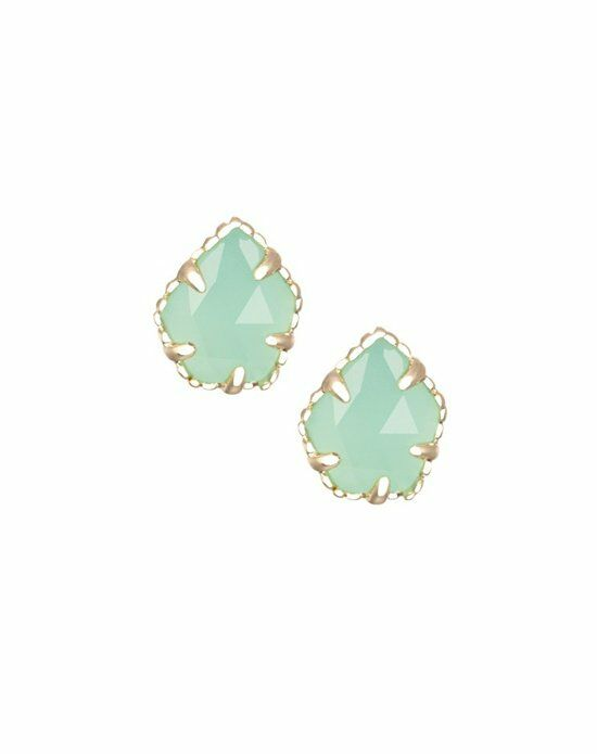 Kendra Scott Tessa Stud Earrings in Chalcedony Wedding Earring photo