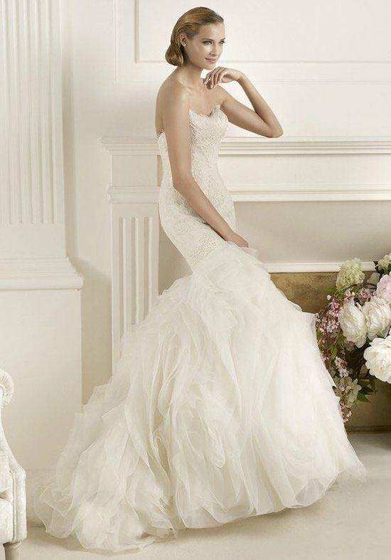 Pronovias duende wedding dress the knot for Pronovias wedding dresses price range