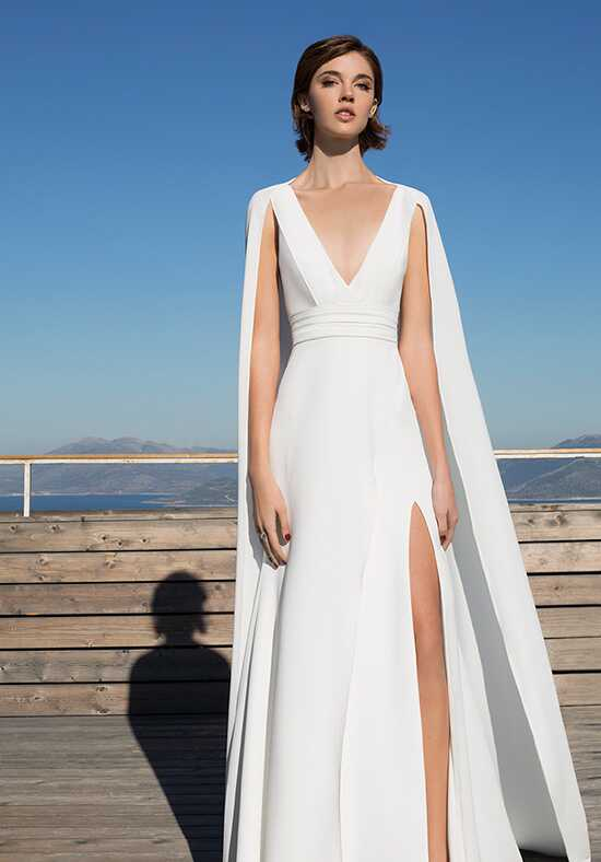 Metropolitan ME144 A-Line Wedding Dress