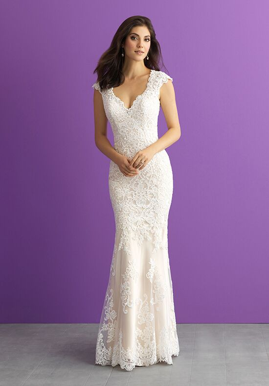 Allure Romance 3009 Sheath Wedding Dress