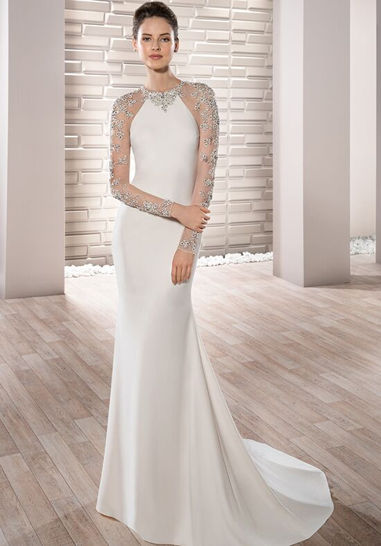 Demetrios 703 Sheath Wedding Dress